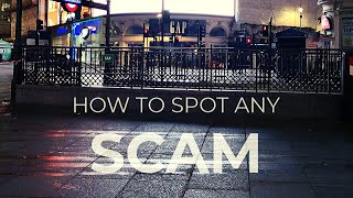 How to spot any SCAM