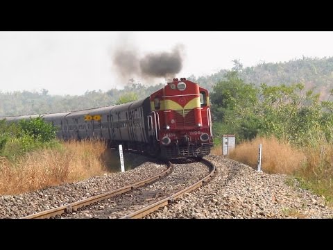 The DIESEL LOCO SHEDS of SOUTH CENTRAL RAILWAY - Indian Railways