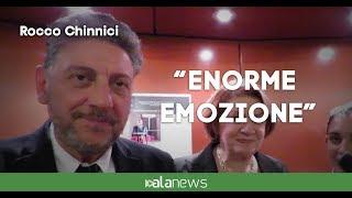 """Film Rocco Chinnici, Caterina: """"Enorme emozione"""""""