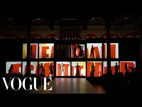 Jean Paul Gaultier Ready to Wear Fall 2013 Vogue Fashion Week Runway Show
