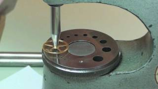 Burnishing pivots & fitting a wheel