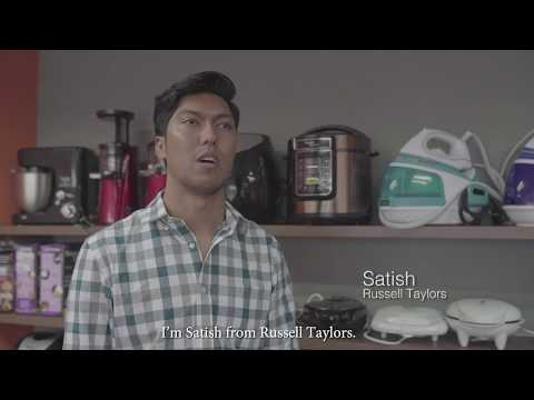 Lazada Malaysia Seller Story: Satish Raguchandran, Founder Of Russell Taylors.