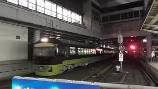 485系リゾートやまどり 団体列車送り込み 仙台駅到着