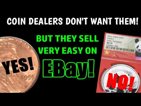 TOP 3 Coins That Sell Easily On Ebay - BUT COIN DEALERS DON'T WANT THEM!!