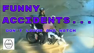 Funny accidents / Incredible car accidents