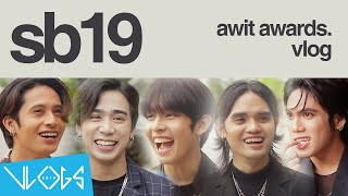 [VLOG] SB19 on Awit Awards + Game