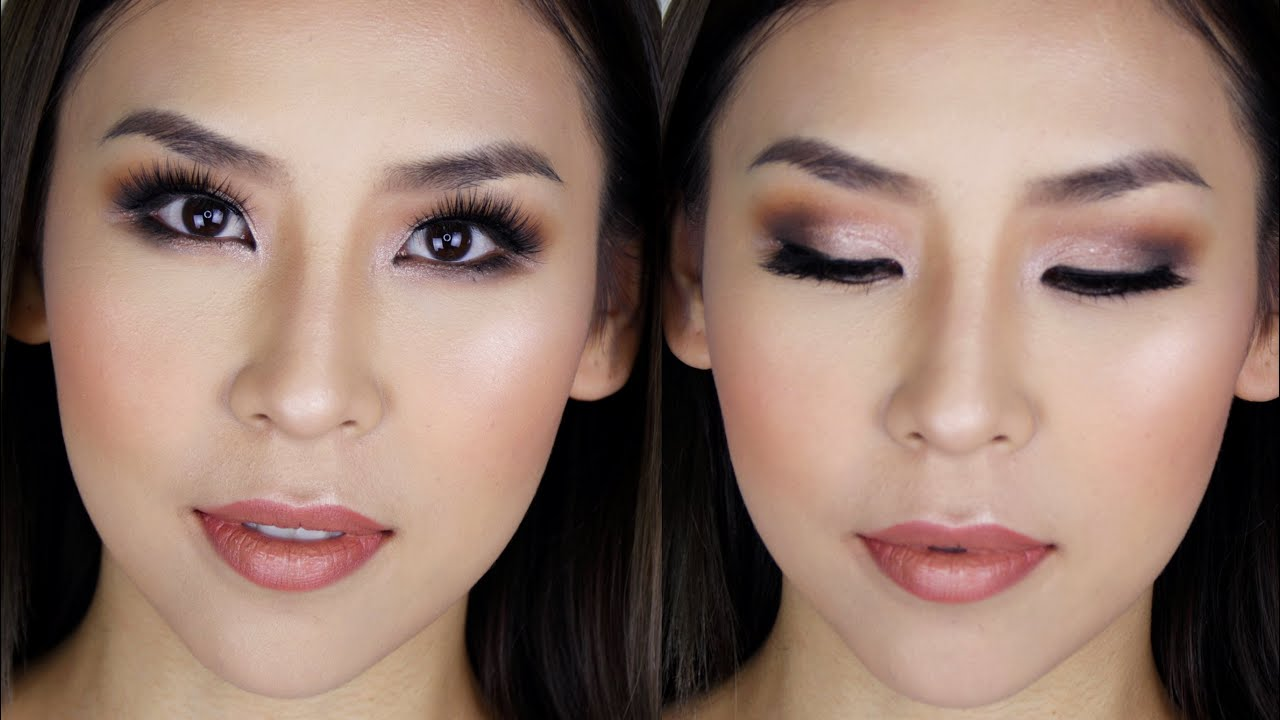 Glam Prom / Formal Makeup Tutorial - YouTube