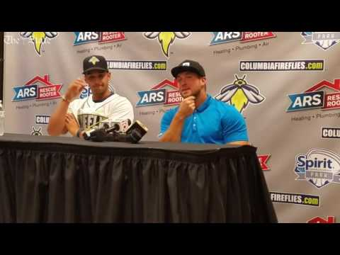 Tim Tebow reflects on first month in minor leagues