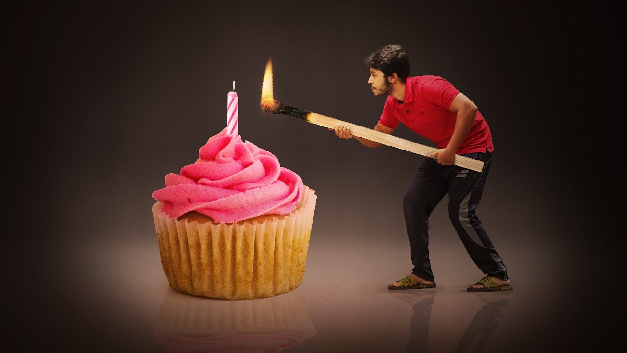 Happy Birthday Photo Manipulation Tutorial
