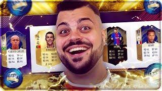 HENRY & ROBERTO CARLOS ICON !!! DRAFT FIFA 18