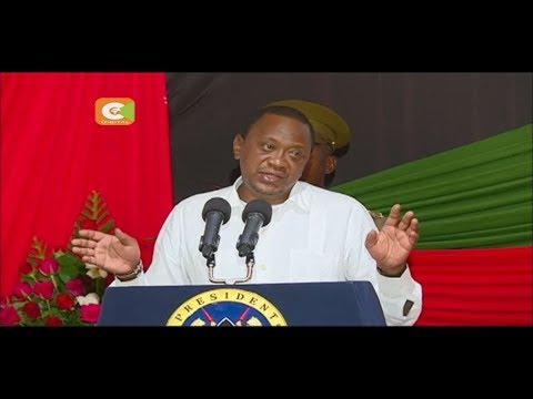 President Kenyatta warns governors supporting secession