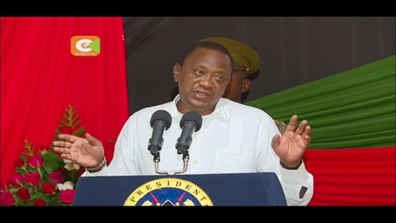 President Kenyatta warns governors supporting secession