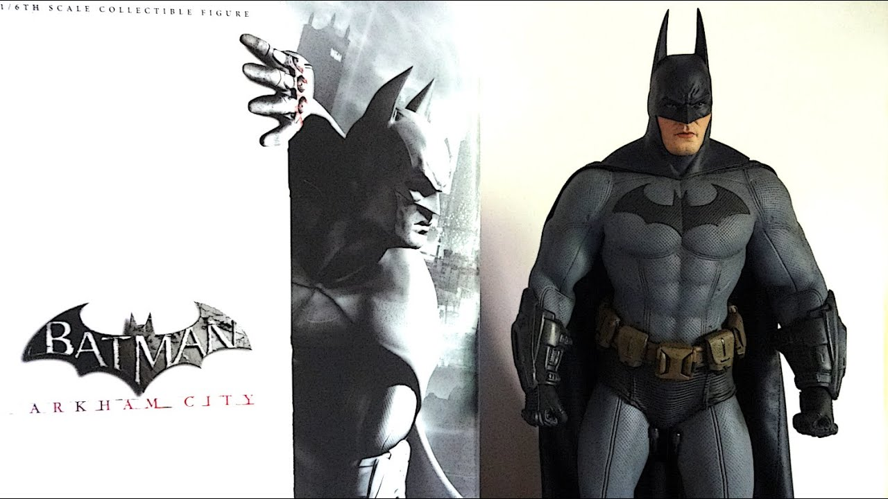 HOT TOYS ARKHAM CITY BATMAN UNBOXING - YouTube