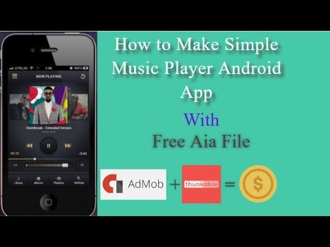How To Make Music Android App /Free Aia File
