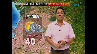 UB: Weather update as of 6:04 a.m. (May 23, 2018)