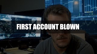 Blowing Up My First Day Trading Account | 1 Month Recap