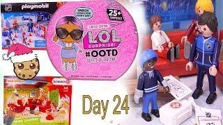 Day 24  LOL Surprise - Playmobil - Schleich Animals Christmas Advent Calendar - Cookie Swirl C