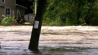 Flooding in New Jersey from Hurricane Irene