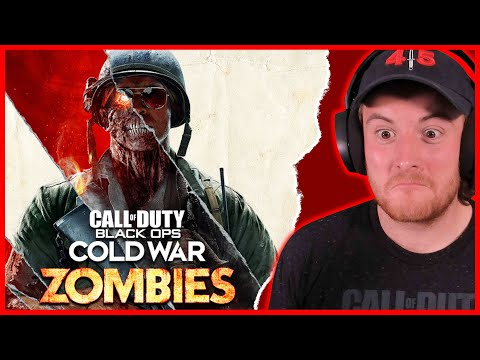 Royal Marine Plays COLD WAR ZOMBIES FOR THE FIRST TIME! (PS5)