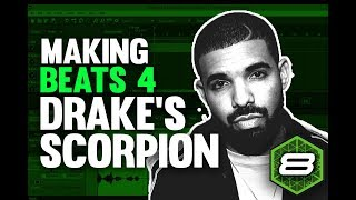 Making a Scorpion Type beat in Mixcraft 8