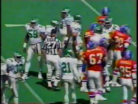 1992 Week 3 Eagles vs Broncos