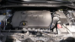 Benchmark excellent sound VVT-i engine. Engine is 2.0 Toyota 1AZ-FE