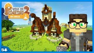 Minecraft: Dicas Simples para Melhorar a Sua Construção - VIDA DE PEDREIRO #58