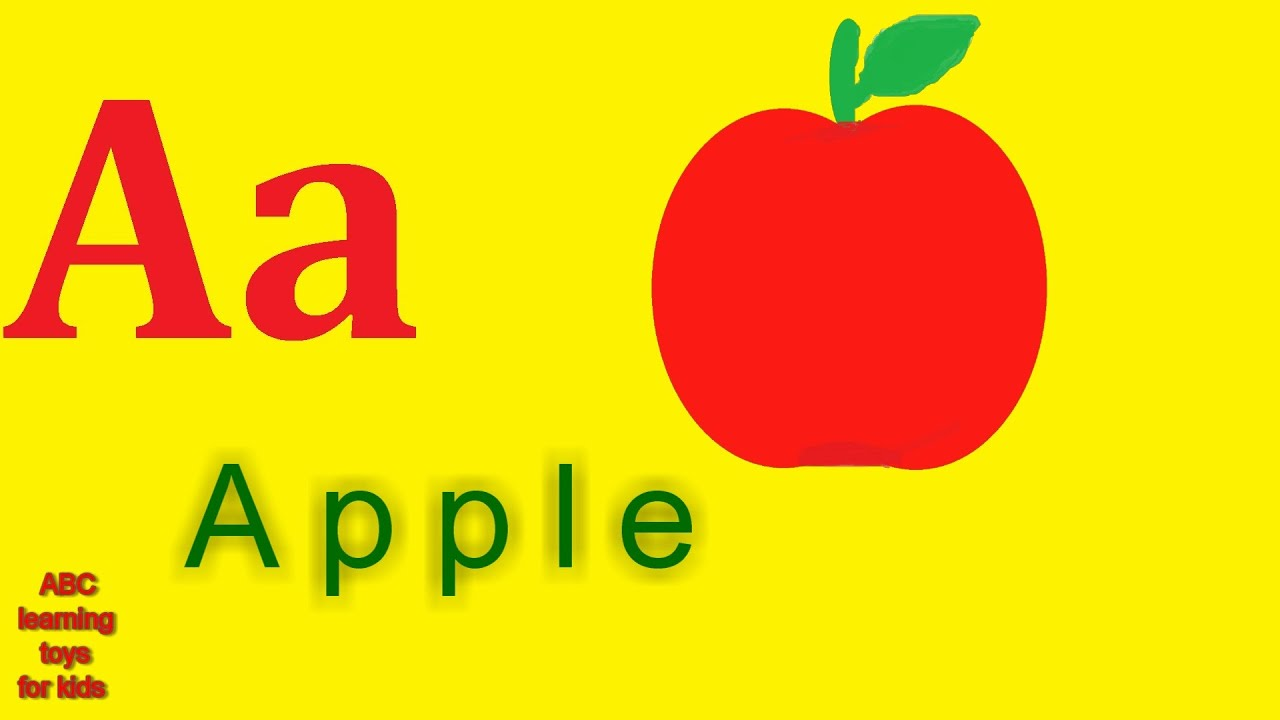 phonics song a is for apple learn alphabet abc and phonics