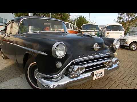 1954 Oldsmobile EightyEight Rocket V8 - Aussen + Motorlauf
