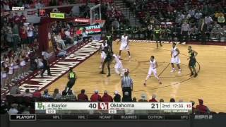 Baylor at Oklahoma | 2016-17 Big 12 Men's Basketball Highlights