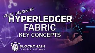 Hyperledger Fabric 1.4: Key Concepts