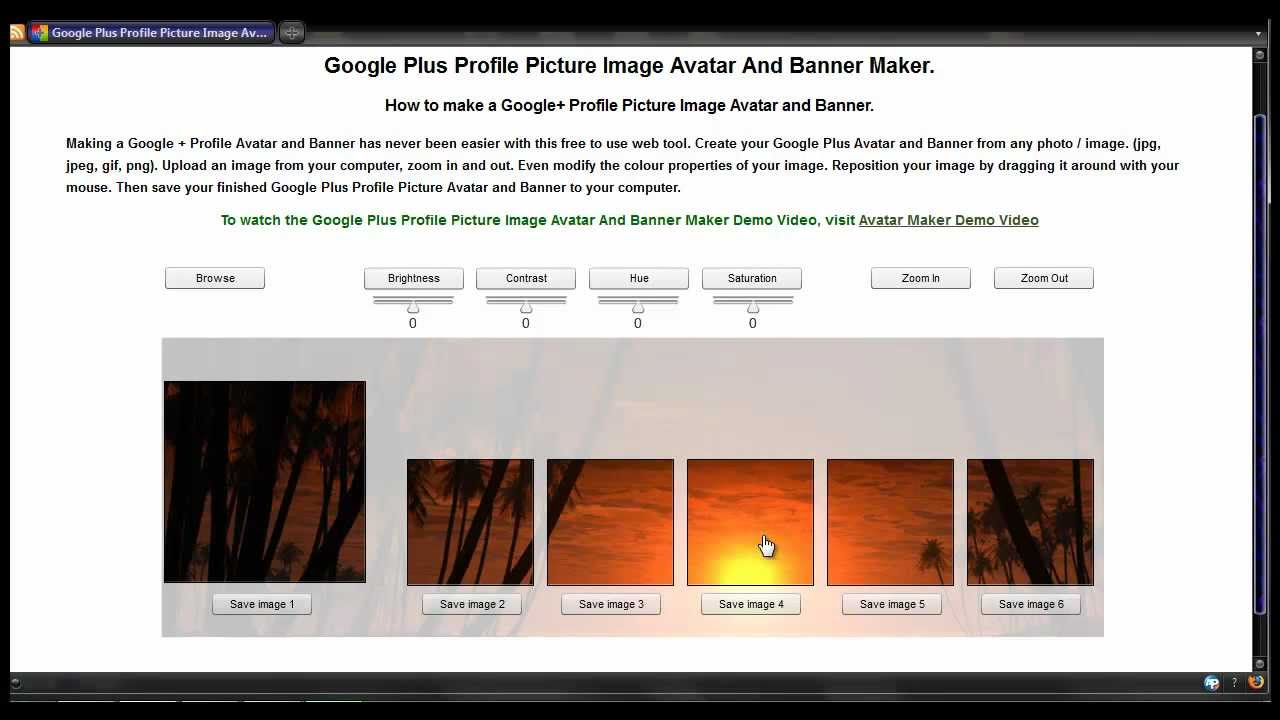 how to change profile picture on google plus