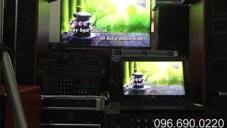 Bộ dàn karaoke loa BMB 450 + Amli 203N 12 sò
