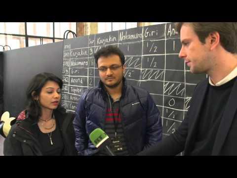 Interview with Sagar Shah & Amruta Mokal   Candidates Tournament 2016