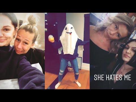 Jessie J  Snapchat Story  21 February 2018