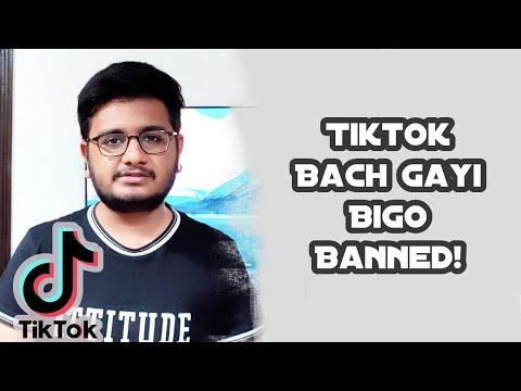 Tiktok Bach Gayi,Bigo Live Banned In Pakistan