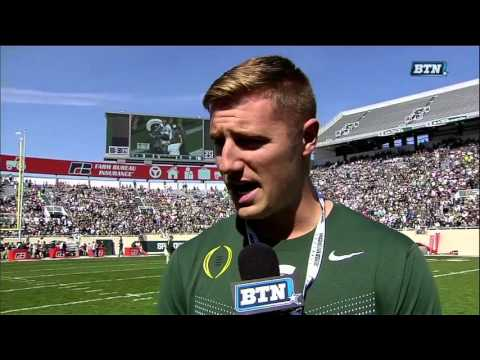 Connor Cook Interview - Michigan State Spring Football