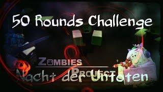 50 Rounds Challenge in Nacht der Untoten | MMC Zombies Project - Roblox