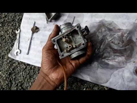 How to clean carburetor of rx100