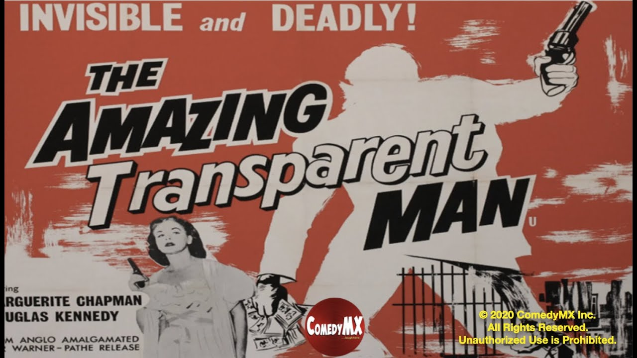 Bloody Pit of Rod: Brief Thoughts- THE AMAZING TRANSPARENT