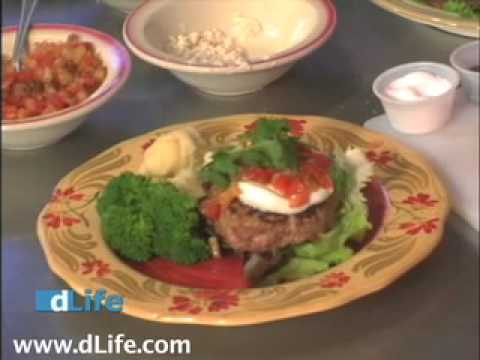 Diabetic Recipes - Low Carb Burger