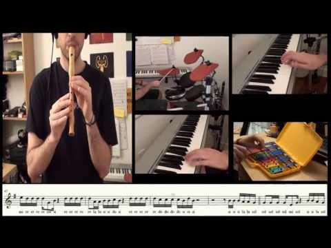 Let her go - Passenger - Flute Cover and sheet music - Carlos Rodríguez Parrón
