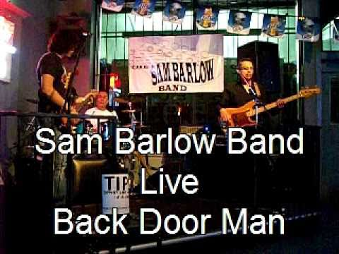 Sam Barlow Band Back Door Man Live