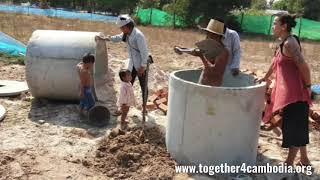 Donatie toilet van Melanie, Lindsey, Calvin,  Deborah,  Tamara,  Esmaralda, Coco en Merlijn