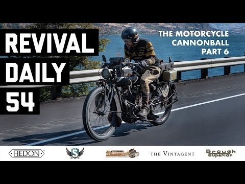 The Grand Finish // Motorcycle Cannonball 2018 // Revival Daily 54