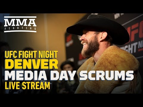 UFC Fight Night Denver Media Day Live Stream  - MMA Fighting
