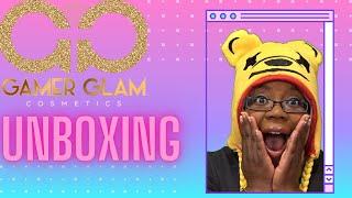 GAMER MAKEUP UNBOXING   GAMER GLAM COSMETICS Live Stream