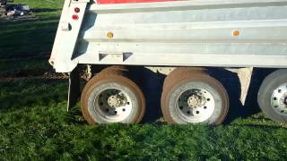 Stuck Dump Trucks...part one.