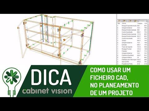 Dica 01 CV | Como usar um ficheiro CAD, para planeamento de um projeto