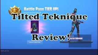 Fortnite Tilted Teknique Skin Review!